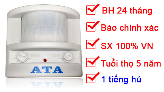 báo động chống trộm hồng ngoại ATA AT01c