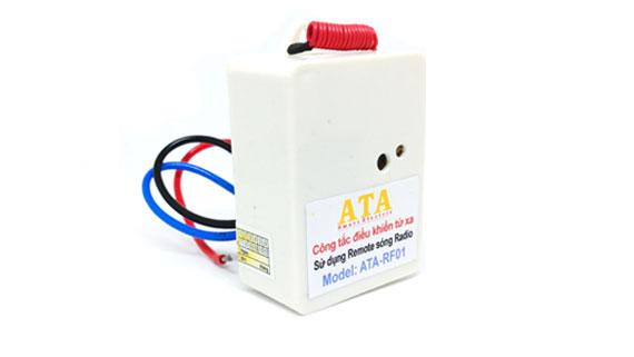 Hạt công tắc điều khiển từ xa bằng remote sóng radio ATA RF01