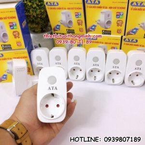 Ổ cắm điều khiển wifi từ xa bằng điện thoại thông minh ATA