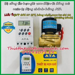 Đồng hồ hẹn giờ tưới nước tự động thông minh ATA