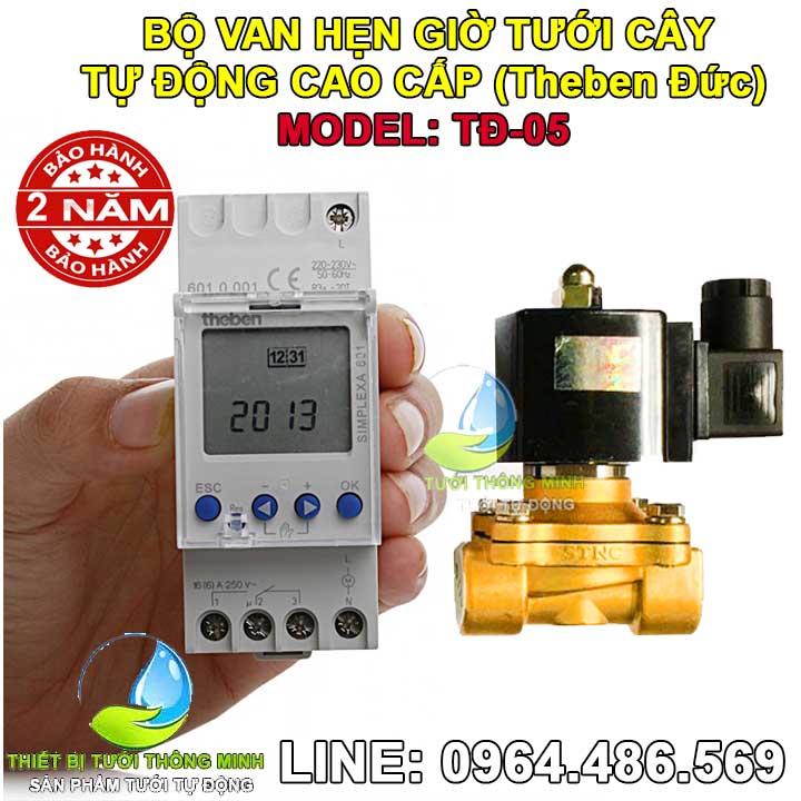 Bộ thiết bị tưới nước cho cây hẹn giờ tự động ATA TĐ-05