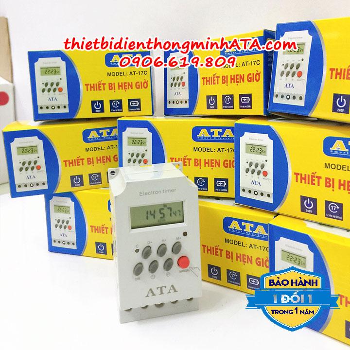 11- Công tắc thiết bị hẹn giờ tự động ATA