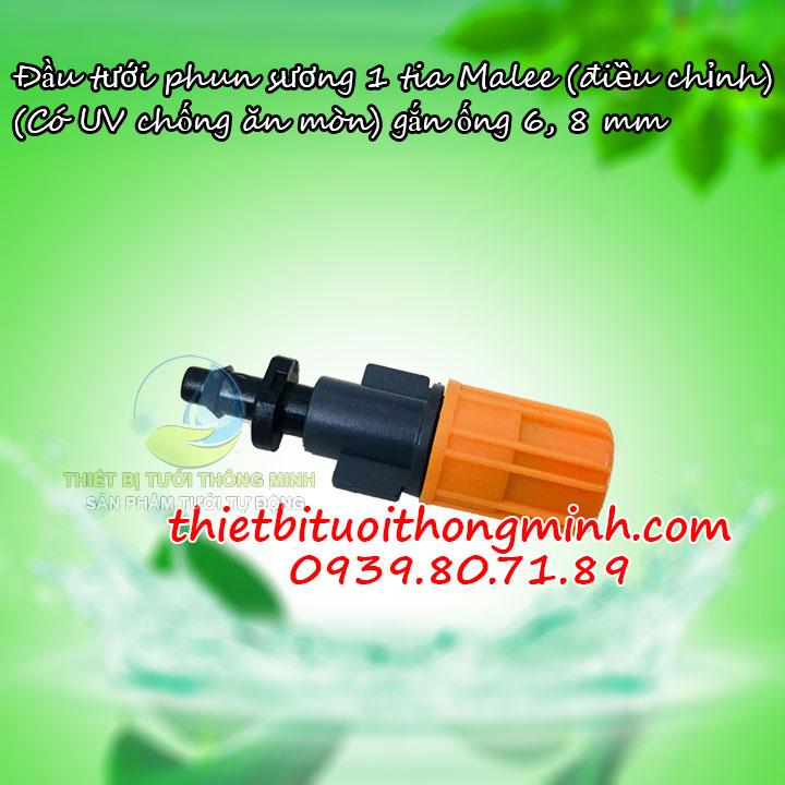 Đầu tưới phun sương 1 tia cam Malee thái lan Mist-1C