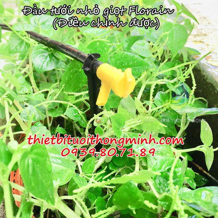 Đầu tưới nhỏ giọt 1 tia Florain