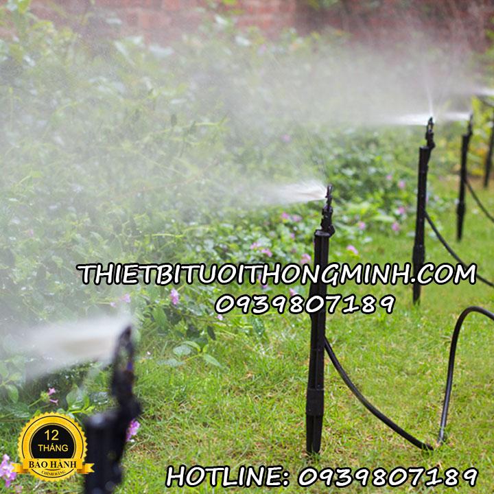 Đầu tưới phun mưa 1 hướng 180 độ cắm gốc Malee thái lan