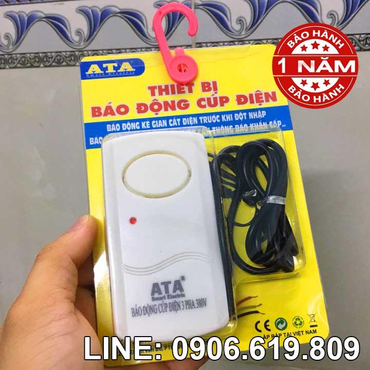 Thiết bị báo động mất điện 3 pha 380v ATA