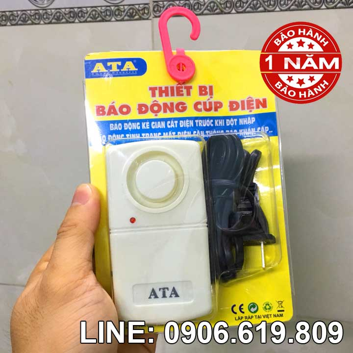 Thiết bị báo động khi mất điện, cắt dây điện ATA