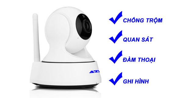 Camera ip không dây thông minh chống trộm