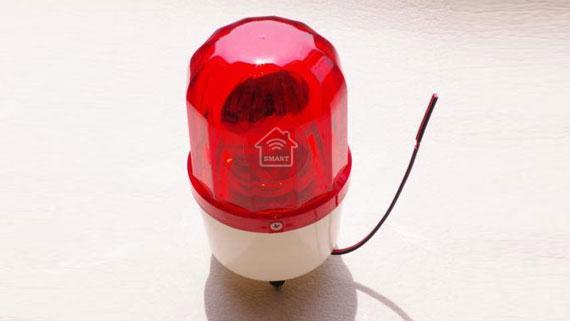 đèn báo cháy xoay