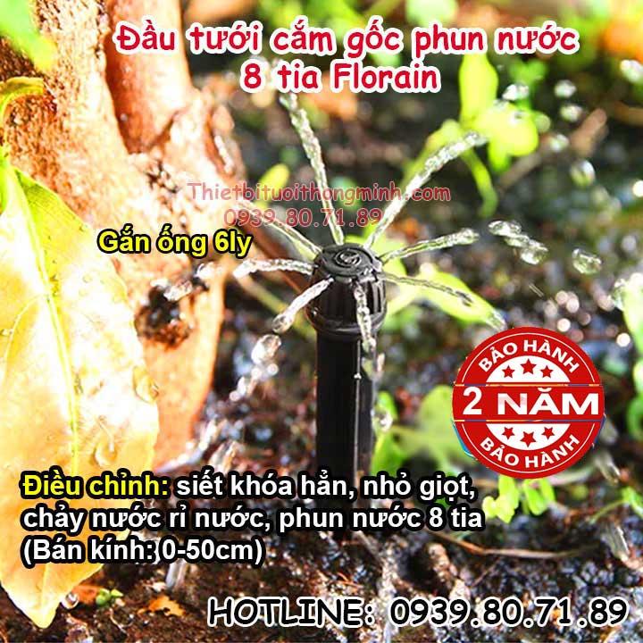 Đầu-béc-tưới-cắm-gốc-nhỏ-giọt-8-tia-Florain-1