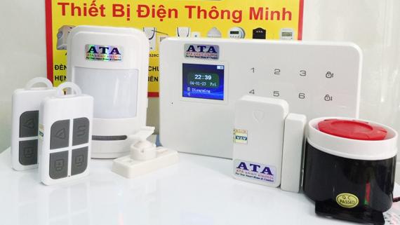 Hệ thống báo trộm qua điện thoại cao cấp dùng sim AT-661A