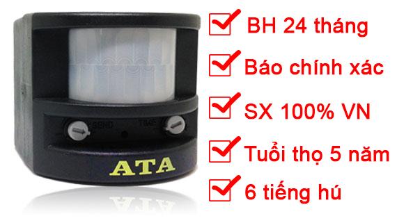 máy chống trộm hồng ngoại ATA AT06c