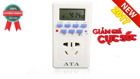 Máy hẹn giờ tự động điện tử dạng ổ cắm ATA AT20C