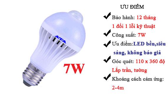 Đèn tự động sáng khi có người ATA AT-07W