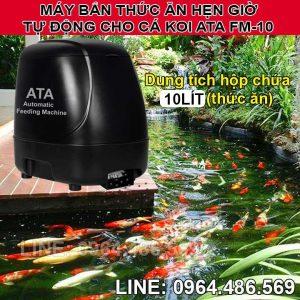 Máy cho cá cảnh ăn tự động ATA