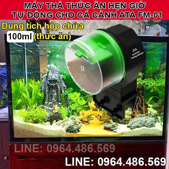 Máy hẹn giờ cho cá cảnh ăn đơn giản ATA FM-01