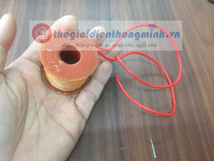 Cuộn coil dây hút van điện từ solenoid 222V, 24V