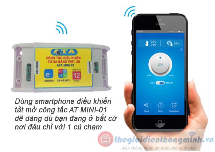 điều khiển từ xa bằng điện thoại wifi