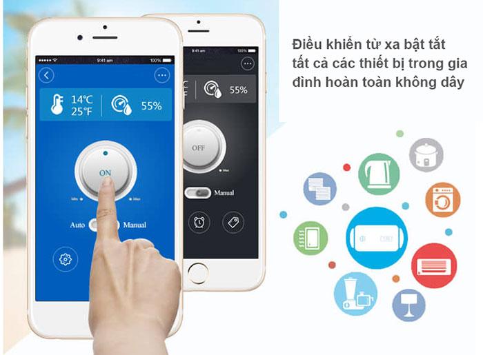 điều khiển từ xa hoàn toàn bằng điện thoại di động