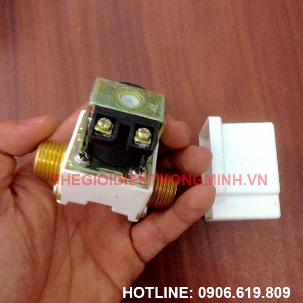 Van nước điện từ 12V DC phi 21
