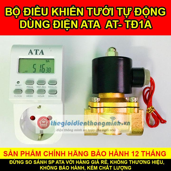 Van nước hẹn giờ dùng điện tưới tự động ATA