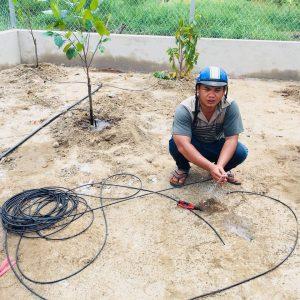 Hướng dẫn lắp đặt tưới cây tưới nước tự động tưới rau trên sân thượng