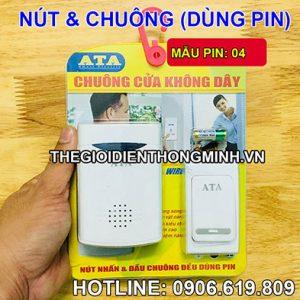 Chuông không dây dùng pin ATA độc lập