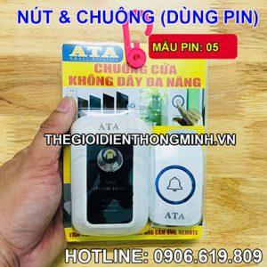 Chuông cổng không dây dùng pin báo khách ATA