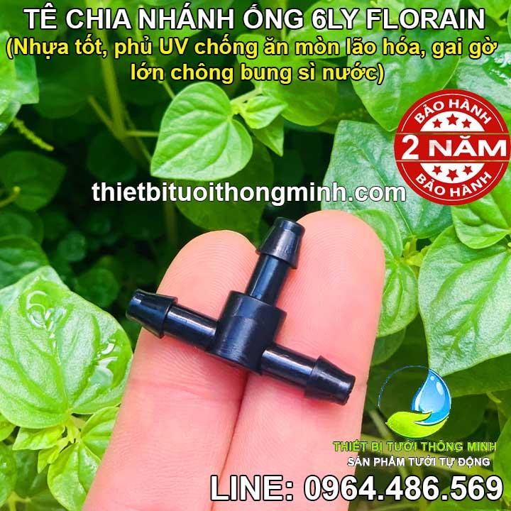 Tê chia nhánh 6mm Florain