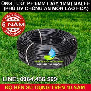Ống tưới cây 6mm malee thái lan