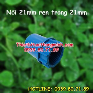 Nối 21 ren trong 21mm ống pvc