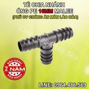 Tê ống nối 16mm Malee