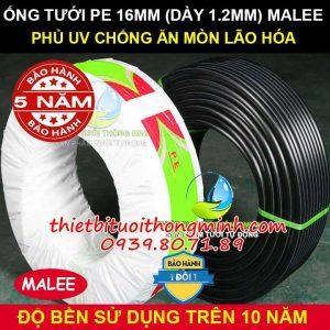 Ống tưới cây pe 16mm Malee Thái Lan