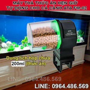 Thiết bị hẹn giờ cho cá cảnh ăn tự động ATA FM-02