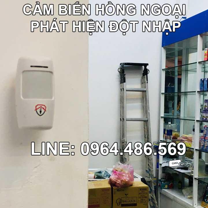 Hệ thống báo trộm gia đình gọi điện thoại không dây SAS-01 3