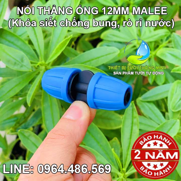 Nối thẳng ống mềm 12mm Malee