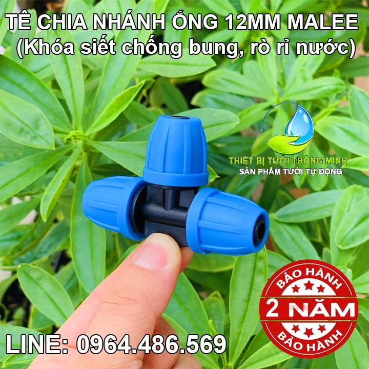Tê chia nhánh ống mềm 12mm Malee
